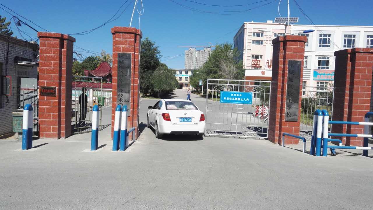 塔城区中等职业技术学院使用科世达访客机